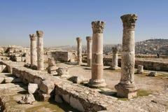 As ruínas romanas Imagem de Stock