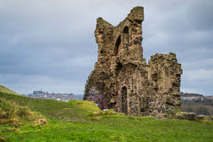 As ruínas velhas. foto de stock royalty free