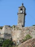 As ruínas velhas transformaram em uma torre de pulso de disparo fotografia de stock