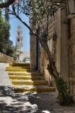 As ruas de Jaffa velho Imagens de Stock Royalty Free