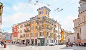 As ruas principais de Parma Fotografia de Stock Royalty Free