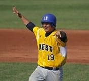 As séries de mundo sênior 2011 do basebol da liga comemoram Imagens de Stock Royalty Free