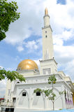 As Salam Mosque in Selangor. As-Salam Mosque known as the Floating Mosque is a mosque in Puchong Perdana, Selangor. As-Salam Mosque was first used on January 5 Stock Photography