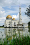 As Salam Mosque in Selangor. As-Salam Mosque known as the Floating Mosque is a mosque in Puchong Perdana, Selangor. As-Salam Mosque was first used on January 5 Stock Images