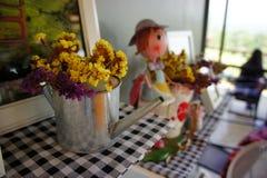 As salas de visitas dirigem a decoração Foto de Stock Royalty Free
