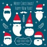 As Santa ajustaram-se Imagem de Stock