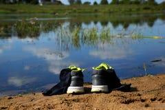 As sapatilhas Fotografia de Stock Royalty Free