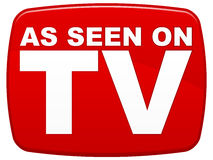 As Seen On TV stock illustration