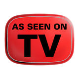 As Seen on TV Icon Royalty Free Stock Photos