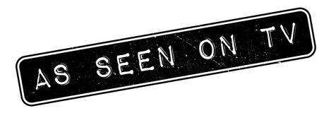 As Seen On Tv rubber stamp Royalty Free Stock Image