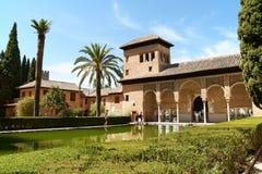 As senhoras elevam-se (Torre de las Damas) em Granada Imagem de Stock Royalty Free