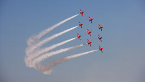 As setas vermelhas Imagem de Stock Royalty Free