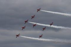 As setas vermelhas Foto de Stock Royalty Free