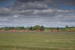 As setas vermelhas Fotos de Stock Royalty Free