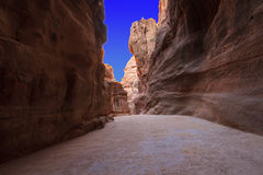 As-Siq Petra, Jordan. Stock Photography