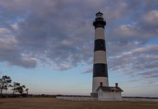 Bodie Lighthouse at Dusk Royalty Free Stock Photo