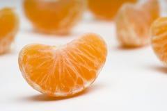 As tangerinas fecham-se acima Foto de Stock