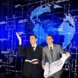 As tecnologias as mais novas do projeto Imagem de Stock