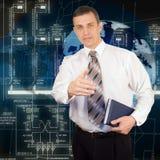 As tecnologias as mais novas em projetar a esfera Fotografia de Stock