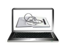 As tecnologias inovativas do computador o mais novo Foto de Stock
