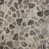 As telhas de mosaico dos seixos projetam na cabine do chuveiro do banheiro moderno foto de stock
