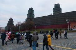 As torres do Kremlin Imagens de Stock
