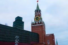 As torres do Kremlin Foto de Stock