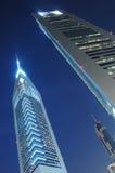 As torres dos emirados de Dubai em Dubai Fotos de Stock Royalty Free