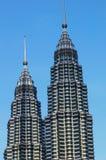 As torres gémeas de Petronas imagens de stock royalty free