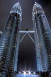 As torres gêmeas de Petronas Foto de Stock Royalty Free