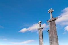 As três espadas Fotos de Stock