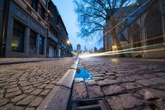 As três torres de Ghent fotografia de stock