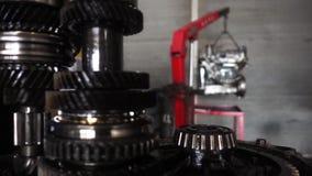 As transmissões do carro alinham o gerencio video estoque