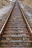 As trilhas das estradas de ferro alemãs Imagem de Stock
