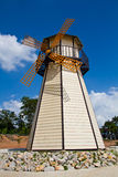 As turbinas de vento da abóbada. Fotos de Stock Royalty Free