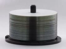 As van Lege DVDs of CDs Royalty-vrije Stock Fotografie