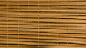 As varas de bambu apresentaram em seguido e interconectaram Fotografia de Stock