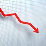 As vendas estão na pena Foto de Stock