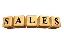 As vendas isolaram-se Foto de Stock