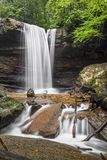 Cucumber Falls in the Laurel Highlands Pennsylvania Royalty Free Stock Photo