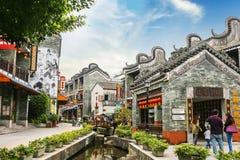 As vilas antigas em Guangdong Fotos de Stock Royalty Free