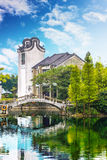 As vilas antigas em Guangdong Foto de Stock Royalty Free