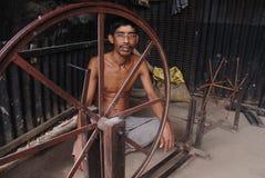 As vilas dos weaverâs em India Fotos de Stock