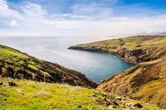 As vistas bonitas na fuga a Ponto fazem o Sao Lourenco, Madeira Imagem de Stock Royalty Free