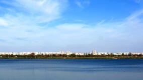 As vistas da cidade bonita Fotos de Stock Royalty Free