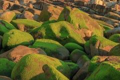 As vistas maravilhosas da praia de Arribolas imagens de stock