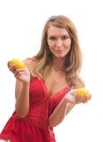 As vitaminas fá-lo-ão bom Fotografia de Stock Royalty Free