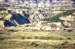 Medora north dakota usa badlands burning hills stock photography