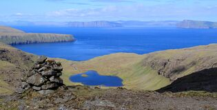 The beautiful valley - Vatnsdalur - Faroe Islands