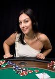As zwei im Kasino Stockfotos